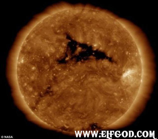 太阳风暴近日将再次抵达地球